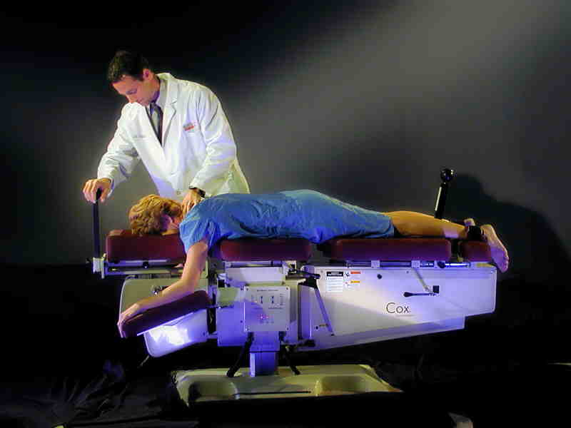 Cox Technic relieves neck pain and arm pain.